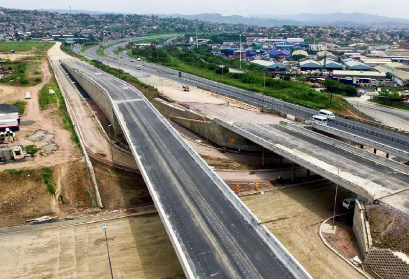 GO!Durban BRT bridges taking shape